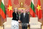 Chủ tịch Quốc hội Nguyễn Sinh Hùng tiếp Phó Tổng thống Bulgaria