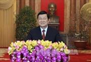 Chủ tịch nước Trương Tấn Sang chúc Tết nhân dịp xuân Bính Thân