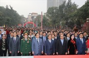 Phó Thủ tướng Nguyễn Xuân Phúc dự khai hội Gò Đống Đa