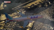 Video 3D tái hiện vụ tai nạn máy bay FlyDubai
