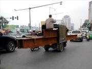 Xử nghiêm xe ba bánh lộng hành ở Thủ đô