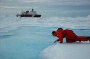 Kỷ lục băng tan ở Bắc Cực
