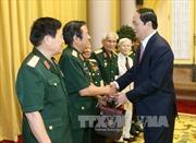 Chủ tịch nước tiếp Ban liên lạc cựu Quân tình nguyện Việt Nam tại Lào