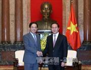 Chủ tịch nước Trần Đại Quang tiếp Đại sứ Trung Quốc