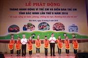 Phát động tháng hành động vì trẻ em tại Bắc Ninh