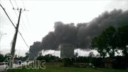 Cháy lớn tại công ty nệm Vạnh Thành, Củ Chi