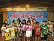 Chung tay giảm tai nạn thương tích trẻ em