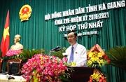 Ông Thào Hồng Sơn trúng cử Chủ tịch HĐND tỉnh Hà Giang
