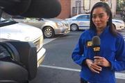 Phóng viên Mỹ bị cướp khi đang đưa tin