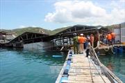 Lật nhà bè trên biển, 2 du khách chết đuối