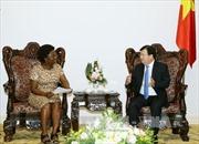Phó Thủ tướng Trịnh Đình Dũng tiếp Phó Chủ tịch WB
