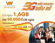 Vietnamobile ra mắt loạt gói cước tiết kiệm 30%