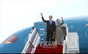 Chủ tịch nước  bắt đầu chuyến thăm cấp Nhà nước tới Brunei