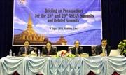 Lào công bố nội dung thảo luận tại Hội nghị Cấp cao ASEAN