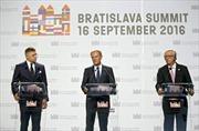 Lãnh đạo EU bất đồng về tương lai của liên minh
