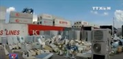 Thu giữ 3 container hàng điện máy nhập lậu tại Tân Cảng