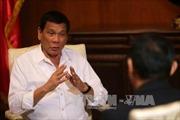 """Mỹ yêu cầu Tổng thống Philippines giải thích tuyên bố """"chia tách"""""""