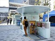 Ý tưởng hữu dụng đưa xe đạp xuống dưới mặt đất của Nhật Bản