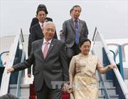 Tổng thống Myanmar bắt đầu thăm cấp Nhà nước Việt Nam