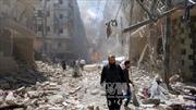 Không kích gần trường học Syria, 16 dân thường thiệt mạng