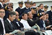 Tổng thống Philippines để ngỏ khả năng tập trận với Nhật Bản