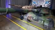 """Xe tăng hiện đại nhất của Đức kéo tới biên giới Nga """"phòng thủ"""""""