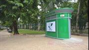 Hà Nội chuẩn bị lắp đặt 1.000 nhà vệ sinh công cộng