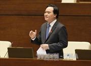 Bộ trưởng Phùng Xuân Nhạ đã đề ra những giải pháp cho ngành giáo dục