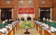 Tổng Bí thư phát biểu chỉ đạo Hội nghị Quân ủy Trung ương