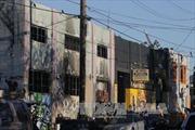 Vụ hỏa hoạn tại Oakland: 40 người có thể đã thiệt mạng