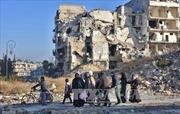 Gần 150 dân thường được sơ tán khỏi Đông Aleppo