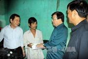 Phó Thủ tướng thị sát rốn lũ Bình Định, Quảng Ngãi
