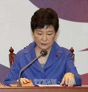 Hàng trăm nghìn người Hàn Quốc kêu gọi bà Park Geun Hye từ chức ngay lập tức