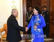 Tổng thống Ấn Độ đánh giá cao chuyến thăm của Chủ tịch Quốc hội Việt Nam