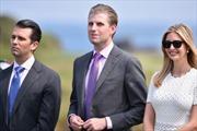 Các con của ông Trump muốn sớm bỏ mật vụ bảo vệ