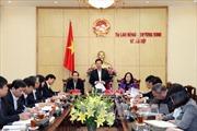 Bộ Chính trị kết luận việc thực hiện lãnh đạo tại ngành Lao động