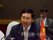 Phó Thủ tướng Phạm Bình Minh hội đàm với Ngoại trưởng Tây Ban Nha