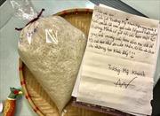 Những túi gạo ngọt ngào...