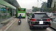 Sau Tết Nguyên đán mới xử phạt vi phạm làn đường xe buýt nhanh