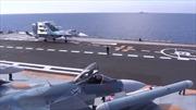 Trên tàu sân bay Đô đốc Kuznetsov ngoài khơi Syria