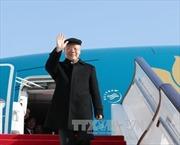 Tổng Bí thư Nguyễn Phú Trọng đến Bắc Kinh, bắt đầu chuyến thăm chính thức