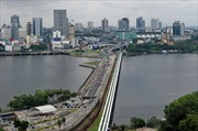 Singapore thu phí đường bộ ô tô biển nước ngoài
