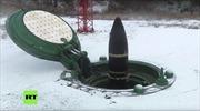 Xem tên lửa liên lục địa Topol-M phụt lửa phóng lên từ lòng đất