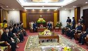 Tăng cường hợp tác giữa hai tỉnh Hòa Bình và Hủa Phăn (Lào)