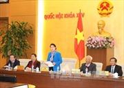 Bế mạc Phiên họp thứ 6 Ủy ban Thường vụ Quốc hội