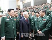 Tổng Bí thư Nguyễn Phú Trọng thăm, chúc Tết tại Bộ Tư lệnh Bộ đội Biên phòng