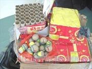 Bắt đối tượng vận chuyển pháo lậu từ Campuchia về Việt Nam