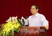 Đồng chí Phạm Minh Chính thăm và chúc Tết tại Quảng Nam