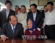 Thủ tướng thăm, chúc Tết các gia đình chính sách tỉnh Quảng Nam