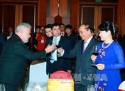 Thủ tướng chủ trì chiêu đãi Đoàn Ngoại giao nhân dịp Tết Đinh Dậu 2017